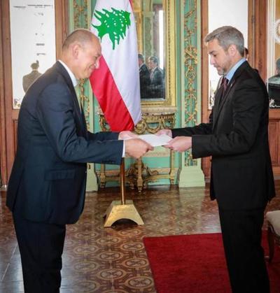 Gobierno recibió cartas credenciales del nuevo embajador del Líbano