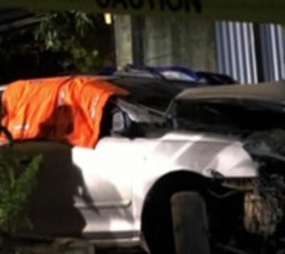 Hombre fallece en violento accidente de tránsito
