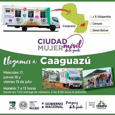 Cuidad Mujer prestará servicios desde este miércoles en Caaguazú