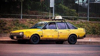 En Asunción circulan taxis de más de 20 años
