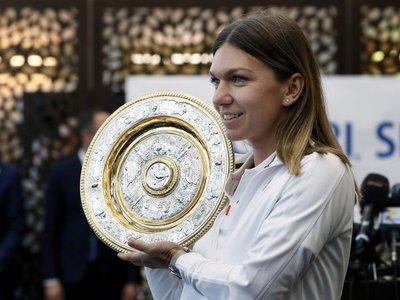 Halep entra en el top 4 tras su victoria en Wimbledon