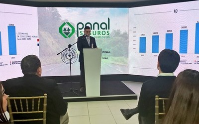Con apoyo de Panal Seguros, brindaron una charla sobre seguridad vial en la Expo