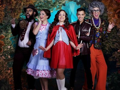 Espectáculo musical revive historia inspirada en Caperucita Roja