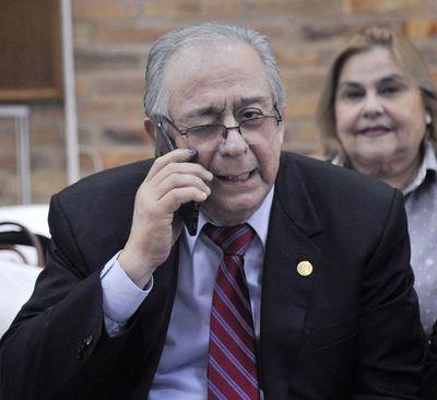 Senado: tras incidentes, juró Raúl Torres Kirmser
