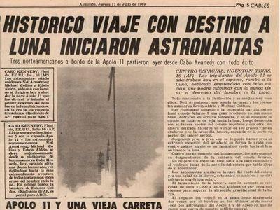 El mundo se paralizó: así vio ABC el despegue del Apollo 11