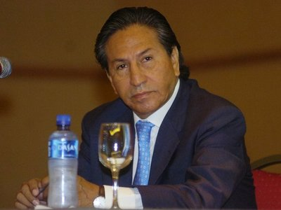 Detienen en EEUU a ex presidente peruano Alejandro Toledo