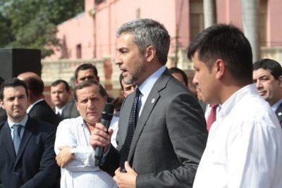 """Mario Abdo: """"Hoy no hay un Presidente contrabandista"""" ¿Mensaje a Cartes?"""