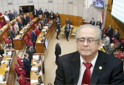 Tras incidentada sesión del Senado, toman juramento a Torres Kirmser