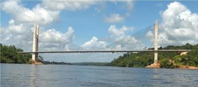 Suspenden verificación de zona de obra del puente entre Franco y Foz de Yguazú