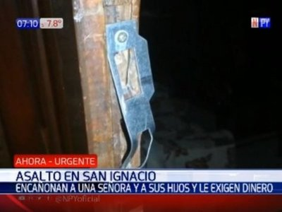 Amenazaron con secuestrar a niños para llevar plata de una doña