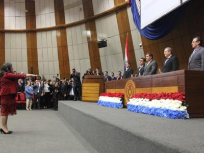 Carolina Llanes promete apegarse a la Constitución Nacional