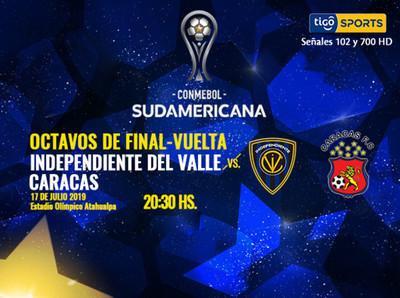 Independiente del Valle y Caracas, en juego decisivo