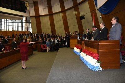 CAROLINA LLANES JURA COMO NUEVA MINISTRA DE LA CORTE SUPREMA DE JUSTICIA