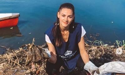 """Nicole Huber: """"Invito a los jóvenes a moverse para tener un país limpio"""""""