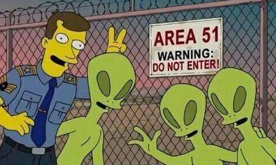 Fuerza Aérea estadounidense se prepara para confrontar a más de 600.000 cazadores de aliens en el Área 51