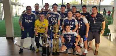Basa, campeón de la Copa Interbancario del Alto Paraná