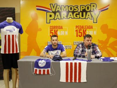 'Vamos por Paraguay', corrida y pedaleada por un mejor país