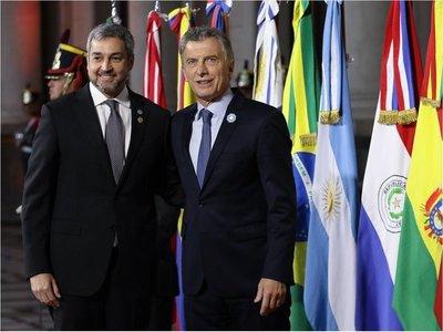 Mario Abdo resalta acuerdo UE-Mercosur e integración fronteriza del bloque