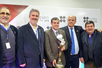 La CU recibe importante distinción por su stand en la Expo 2019