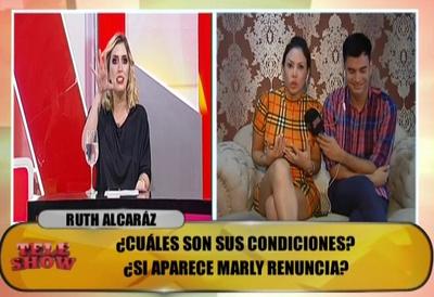 Ruth Alcaráz acusó a Carmiña Masi de amenazarla