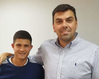 Concepcionero firma contrato con Olimpia