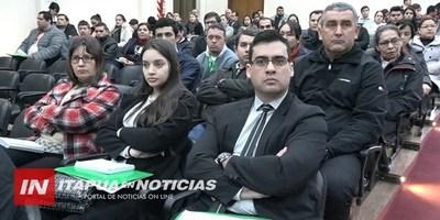 SFP CAPACITÓ A FUNCIONARIOS DE LA GOBERNACIÓN Y MUNICIPALIDADES.