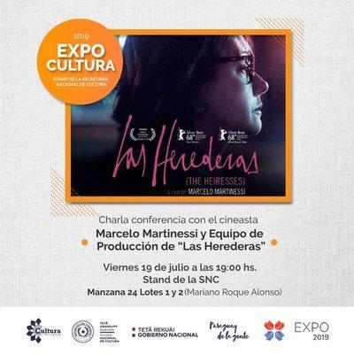 Marcelo Martinessi y equipo de producción de Las Herederas brindarán charla en Stand de la SNC en la Expo
