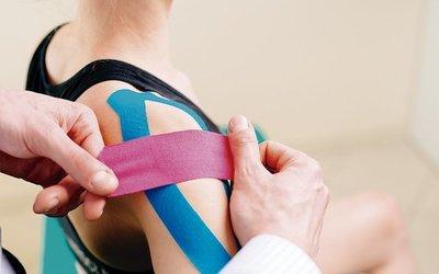 Bandas elásticas que alivian lesiones