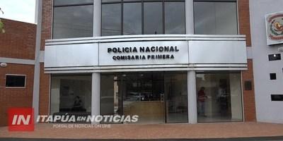 APREHENDEN A DOS JÓVENES CON MARIHUANA EN PLENO CENTRO DE ENCARNACIÓN