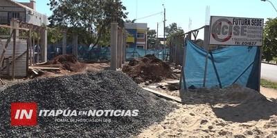 AVANZA CONSTRUCCIÓN DEL LOCAL PROPIO DE LA CÁMARA DE COMERCIO DE ENCARNACIÓN