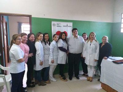 Inauguran mejoras en el Puesto de Salud de Barcequillo