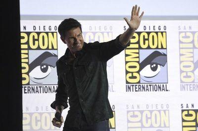 """Tom Cruise llega de sorpresa a la Comic-Con a presentar la nueva """"Top Gun"""""""