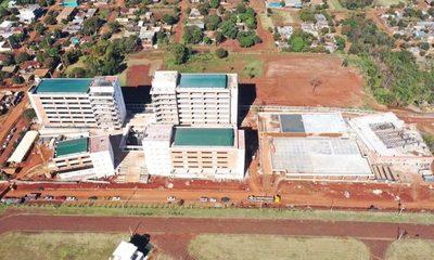 Futura sede del Palacio de Justicia de Ciudad del Este con 70% de avance