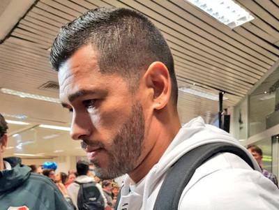 Miguel Samudio llega para fichar por Olimpia