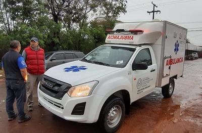 Horqueta y Yby Yaú cuentan nuevamente con ambulancias