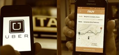 Uber y Muv deberán cumplir requisitos básicos para operar en Asunción