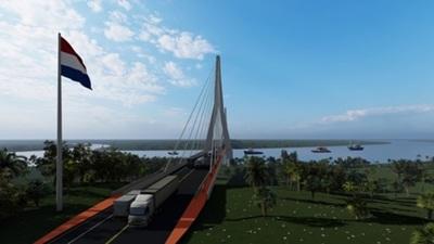 Autoridades lanzarán licitación para diseño de puente internacional en Carmelo Peralta