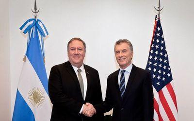 Pompeo respalda a la Argentina y a la AMIA