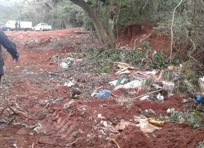 Comuna arrojaba basura en lugares no habilitados