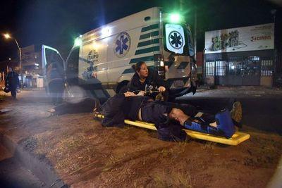 INSÓLITA CADENA DE ACCIDENTES DEJA UN MUERTO Y TRES HERIDOS