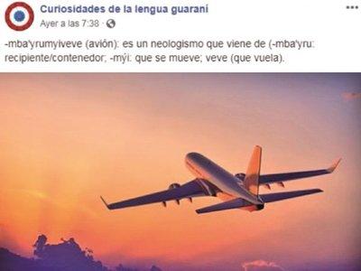 Fanpage que difunde   guaraní y  educa  sobre   su uso consigue miles de  likes