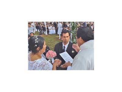 Sí, quiero: 110 parejas se casaron ayer en Caaguazú