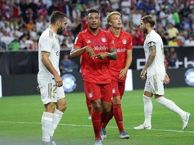 Exhibición y goleada del Bayern en un pobre debut del nuevo Real Madrid