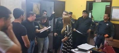 """Fiscalía allanó Comisaría de Lambaré por supuesta """"extorsión y tortura"""""""