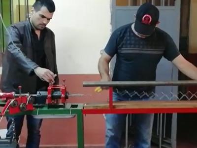 Instalan primera fábrica de tejidos de alambre en Penal de San Pedro