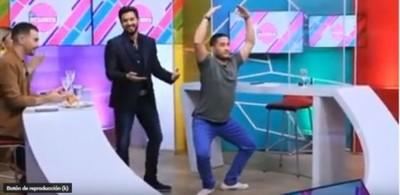 """Así El Periodista César Trinidad Se Prepara Para El """"Baila"""""""