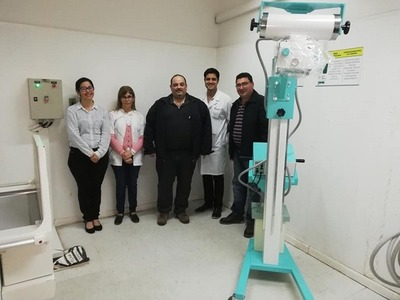 Gobierno invierte unos G. 60 millones en nuevo equipo de Rayos X para hospital de Pilar