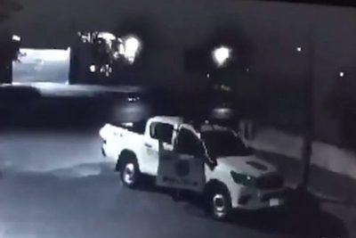 Policías implicados en robo de electrodomésticos