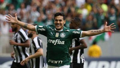 El 'vuelo del terror' de Gustavo Gómez con Palmeiras