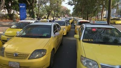 Equipo fiscal acompañará policías que impedirán a taxistas cerrar calles
